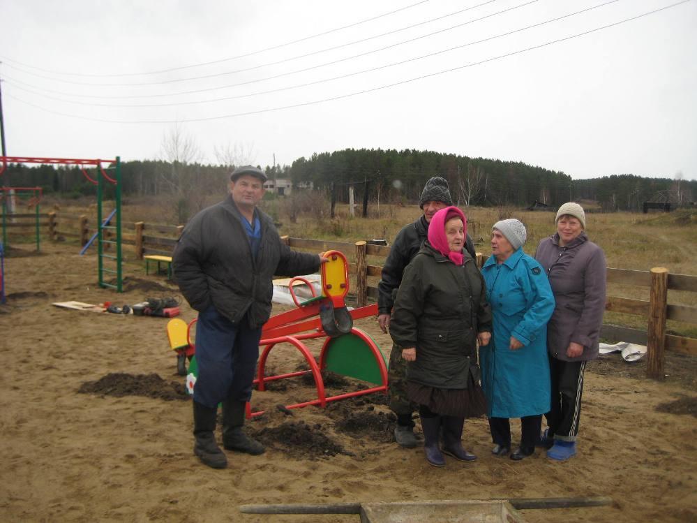 Население участвует в реализации гранта Вахрушево